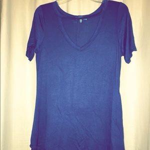 Blue Choker Shirt